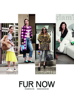 We are loving our new FUR NOW Campaign. It shows how fur can be styled in different ways. Beautiful pieces from the most re-known designers. Have a look at all the info and backstage at:  http://www.thisisfurnow.com/  #fur #furnow #burberry #utson #fendi #osman #salvatoreferragamo #trends #fashion