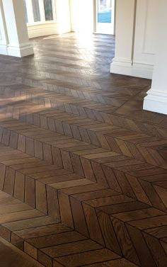 French Oak Chevron Parquet