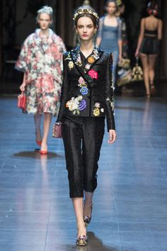 Anna Grostina for Dolce & Gabbana S/S 2016