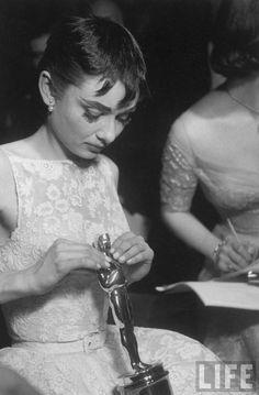 Audrey Hepburn, con