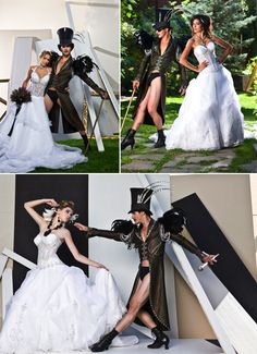 set design for Bridal Fantasy Magazine Spring/Summer 2011