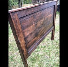 A personal favorite from my Etsy shop https://www.etsy.com/listing/482205209/farmhouse-headboard-rustic-vintage