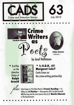 Crime And Detective Stories 63 July 2012