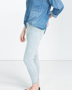 promo code a5a61 49626 Image 4 of MID-RISE JEANS from Zara