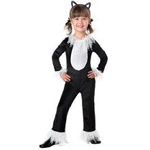 Infants Black Kitty Halloween Costume Size 12 to 18 months