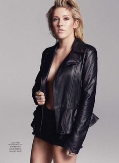 Ellie Goulding - Marie Claire UK, February 2014 : Global Celebrtities (F) - FunFunky.com