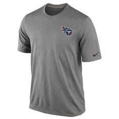 Nike Tennessee Titans Legend Practice T-Shirt When that sun heats you up at Training Camp and during the season, make sure you are sporting this Legend Practice tee by Nike. With Nike™s patented Dri-FIT technology that wicks moisture away from th http://www.MightGet.com/february-2017-2/nike-tennessee-titans-legend-practice-t-shirt.asp