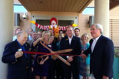 """Day 0 of #58DayCountdown = Ribbon Cutting on our new 20,000 square foot expansion! We have 20 more rooms available, 58 total, for families to find love, support, healing and hope. As Ray Croc, founder of McDonald's said, """"None of Us is as Good as All of Us."""" On behalf of our past, present and future, we humbly say, """"Thank you!"""" to each and every person who has helped the House that Love Built. That's Love, Fort Worth, The Expanse, Families, Ribbon, Healing, Rooms, Future, House"""