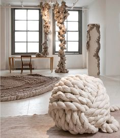 Dana Barnes floor covering collection at Ralph Pucci showroom