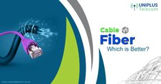 What's best now?  Fibre or the Cable?  Let's find out. Digital Web, Data Transmission, Business Networking, Cloud Based, Fiber Optic, Augmented Reality, Connection, Cable, Cabo