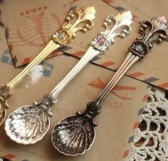 Vintage Coffee Spoons