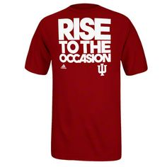 Love this! Indiana Hoosiers adidas Basketball On-Court Shooting T-Shirt, available at the IU Official Store.