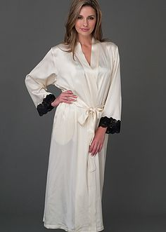 Feel forever treasured. Wrap yourself in the Le Tresor Silk Robe  http   db06c67c4