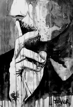 "Saatchi Art Artist Loui Jover; Drawing, ""think again"" #art"