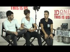 One Direction Interview This is US - YouTube