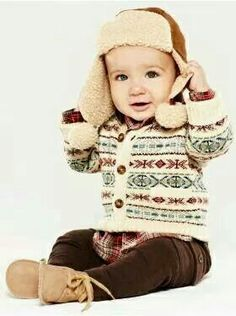 cute winter boy