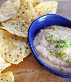Vegan Refried Bean Hummus