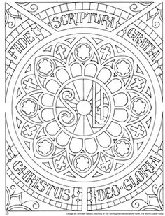 peterson and the makers of the torchlighters dvd series comes the five solas coloring page for all ages the torchlighters martin luther story is coming