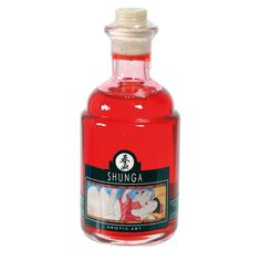 Shunga - Aphrodisiac Oil Cherry Product Type: Sex Essentials Vendor:Shunga Intensify the pleasure and sensations of your partner's erogenous zones. Apply this oil, made of all natural ingredients, freely all over your partner's body. - See more at: http://www.lovesexations.com/collections/lubes/products/shunga-aphrodisiac-oil-cherry