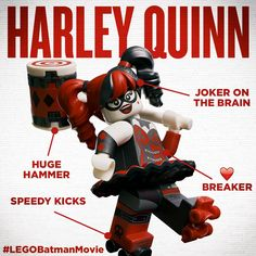 The LEGO Batman Movie Character Profile: Harley Quinn