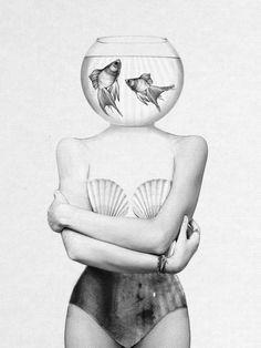 Pisces Framed Art Print by Jenny Liz Rome | Society6