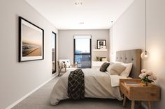 Flat in Auckland City - Gallery City Gallery, Studio Apartment, Auckland, City Bedroom, Interior Design, Inspiration, Flat, Furniture, Bed Room