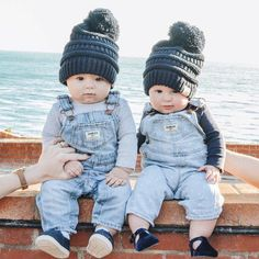 This duo is ready for Are you? Thanks for the pic Keep 'em coming. Baby Outfits, Outfits Niños, Kids Outfits, Cute Baby Twins, Baby Kids, Baby Boy Fashion, Kids Fashion, Cute Baby Pictures, Twin Babies