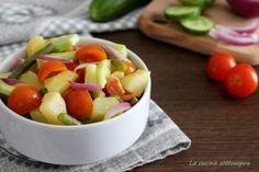 Cialda barese  insalata estiva facile e gustosa