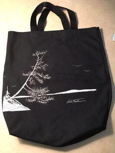 Gwen Frostic Rare Tote Bag Northern Michigan Traverse City Pure Michigan