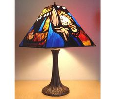 : Stained glass lamp shades do not forget paper lampshade do not forget stained glass lamp bases do not forget tiffany table lamps Stained Glass Lamp Shades, Stained Glass Table Lamps, Glass Lamp Base, Stained Glass Paint, Stained Glass Panels, Stained Table, Lamp Shades For Sale, Delphi Glass, Tiffany Table Lamps