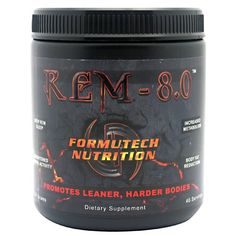 Formutech Nutrition REM 8.0 Sleep Therapy Supplement