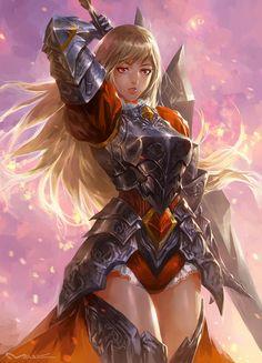 Fantasy Girl 2 by kamiyamark.deviantart.com on @DeviantArt