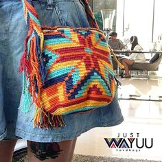 "305 Likes, 2 Comments - Just Wayuu (@just.wayuu) on Instagram: ""One of our happy customers with her genuine wayuu bag. Handcrafted handbags made by indigenous…"""