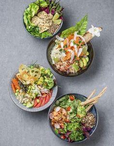 Le Poke bowl, le plat venu d'Hawaii auquel vous n'échapperez pas – ThePins Clean Eating, Stop Eating, Healthy Cooking, Healthy Eating, Healthy Recipes, Poke Bowl, Good Food, Yummy Food, Asian Recipes