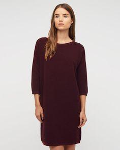 ottoman-stitch-knit-dress