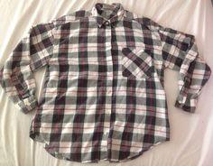 Black Shirt Size M Pink Women's VINTAGE 80's 90's Plaid Button Up Down | Medium #Setefano #ButtonDownShirt