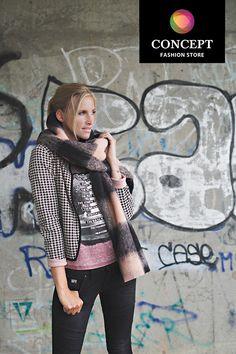 Try the Look FW14 | Is deze look echt iets voor jou? Indien je dit wenst hangen we je favoriete stuk van deze look, of de volledige look, aan de kant in jouw dichtstbijzijnde Concept Fashion Store. Je komt langs wanneer jij tijd hebt. | Try the Look is volledig zonder aankoopverplichting. | Meer informatie via: http://www.conceptfashion.be/looks