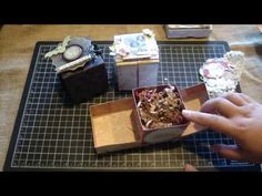 ▶ Handmade Gift boxes and Card & Envelope Booklet Project Share/ Tutorial - YouTube