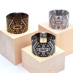 Aztek Peyote Cuffs #artisticbracelet #handmade #madeinfrance