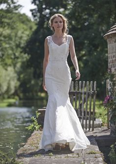 """The 2016 Stephanie Allin """"Love Letters"""" bridal collection is filled with timelessly elegant silhouettes 