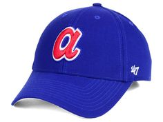 Atlanta Braves  47 MLB Cooperstown  47 CLEAN UP Cap eb331e222492