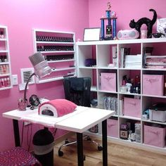 Image result for nail room ideas
