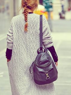 PF + Free People Vegan Biker Backpack at Free People Clothing Boutique