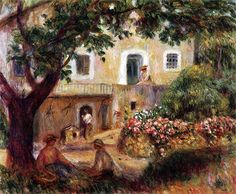 Pierre Auguste Renoir - The Farm 1914