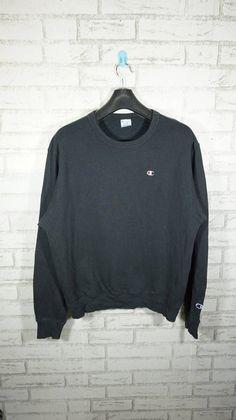 f45303d7674c Vintage Champion Cookies Logo Black Sweatshirt Size Medium M   Vintage  Champion Sweater   Vintage Ch