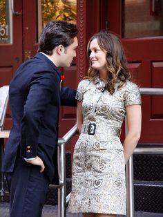Chuck and Blair- what a dress!