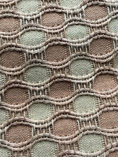 Weaving Textiles, Weaving Art, Loom Weaving, Tapestry Weaving, Hand Weaving, Weaving Designs, Weaving Projects, Weaving Patterns, Textile Patterns