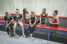 the girls from dance moms at grand opening for the new ALDC in LA