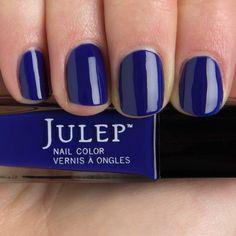 Char Julep ($14) ❤ liked on Polyvore featuring beauty products, nail care, nail polish, nails, makeup, beauty, 37. nail polish. and 38. nail polish.