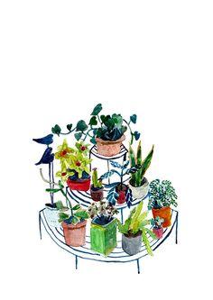 Elizabeth Barnett - Circular Plant Stand